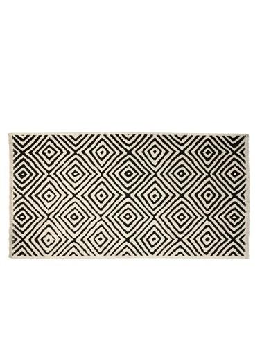 Bella Maison Mozaik Çift Taraflı Kilim (160x230 cm) Siyah